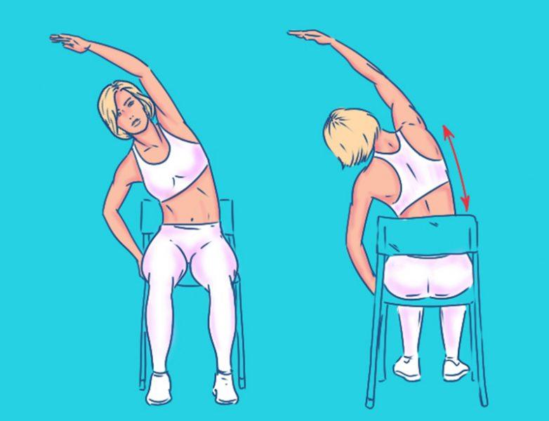 5 упражнений для спины с эффектом массажа
