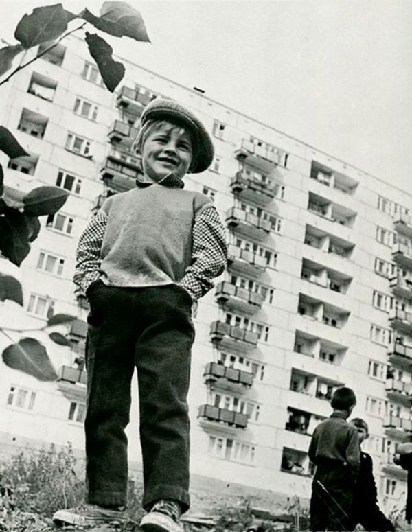 Дворовые затеи советской детворы