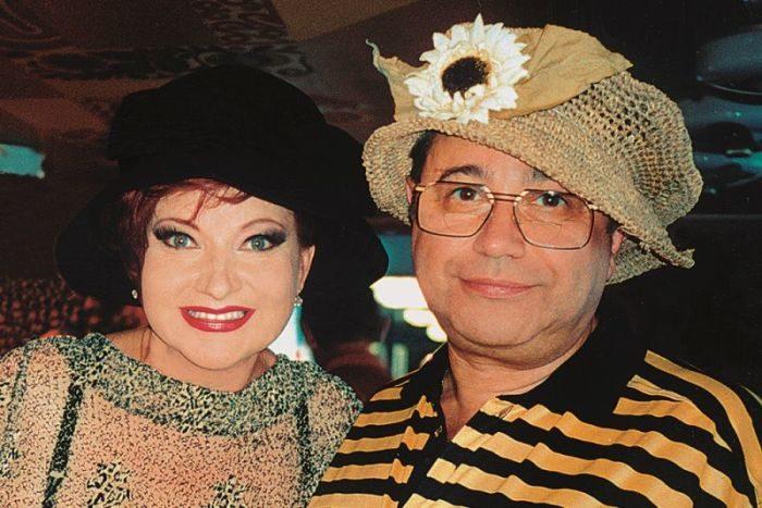 Евгений Петросян и Елена Степаненко, 1990-е годы.