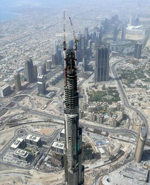 19. Бурдж-Халифа, Дубай, ОАЭ, 2008 год достопримечательности, здания, старые фото, строительство