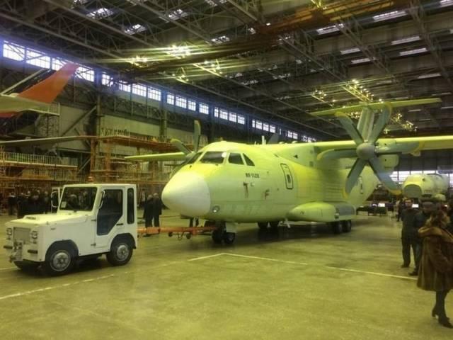 Первый экземпляр Ил-112В отправлен на аэродромные испытания