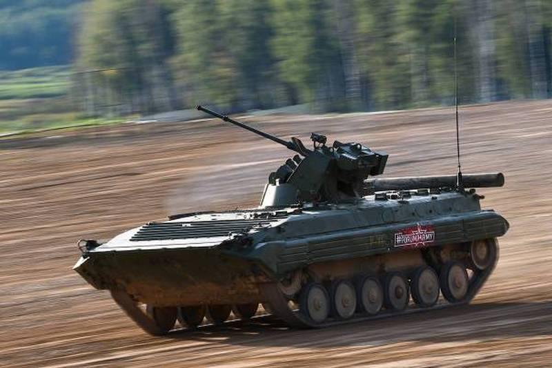 "УВЗ подготовил программу модернизации БМП-1 до версии БМП-1АМ ""Басурманин"""