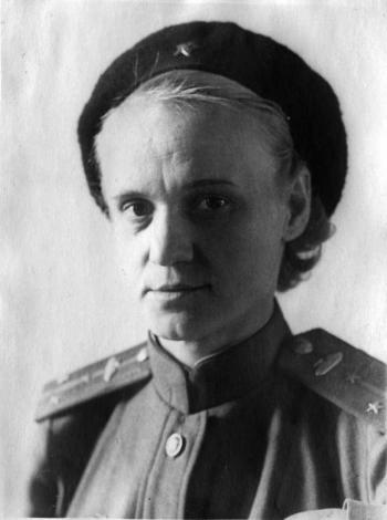 Евгения Кострикова - командир танковой роты в годы ВОВ