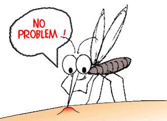 Укусы комаров станут безопасными
