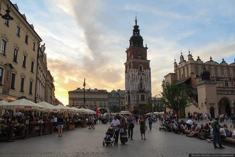 Краков — наверное, лучший город Польши путешествия, факты, фото