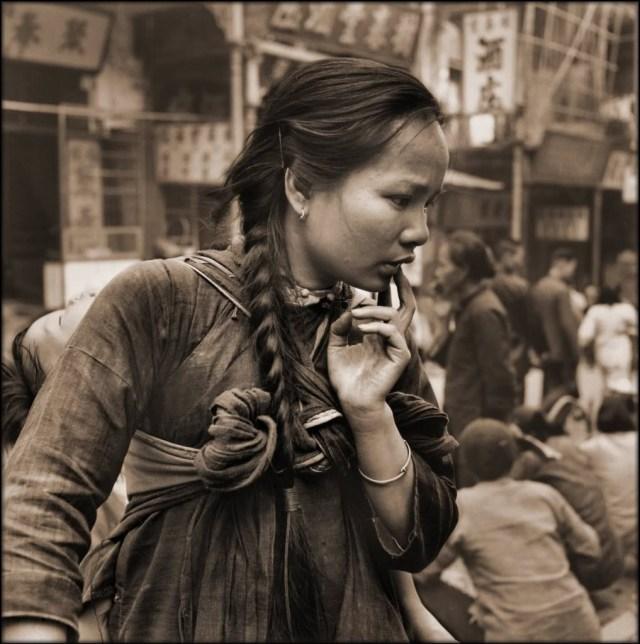 Женщина из Гонконга. исторические фото, история, китай