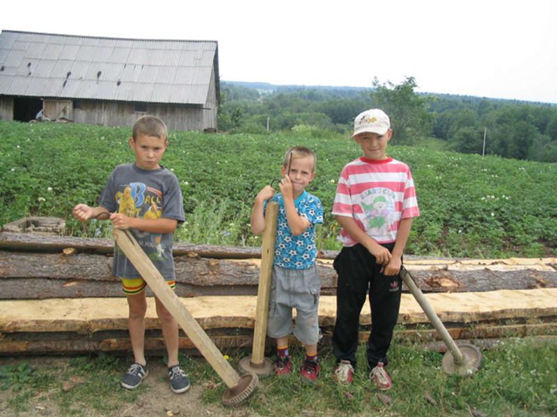 Дети из деревни