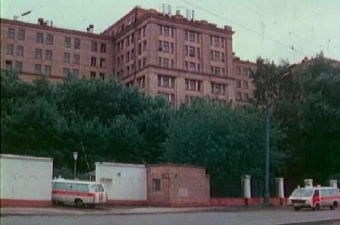 Московская больница. / Фото: www.pastvu.com