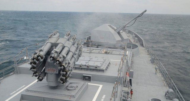 «Адмирал Эссен» провёл стрельбу «Калибрами»