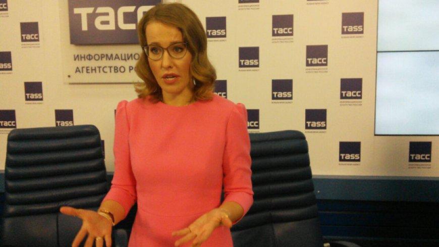 Собчак заявила о намерении создать собственную партию «Русского народа»