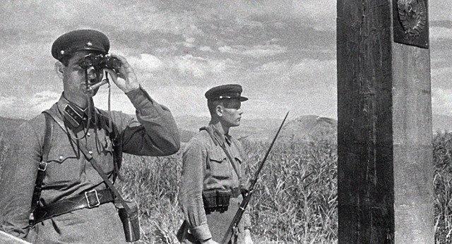 Пограничные войска НКВД Советского Союза в начале Великой войны НКВД, СССР, война, немцы, оборона, пограничники