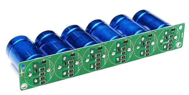 Суперконденсаторы вместо аккумулятора в автомобиле