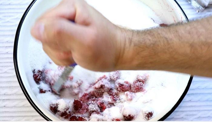Малина на зиму. Идеальный свежачок варенье, малина, кулинария, еда, видео рецепт, рецепт, длиннопост, видео