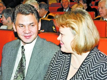 Сергей Шойгу с женой. Фото