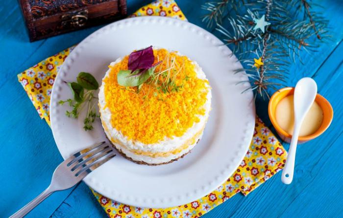 рисовый салат с печенью