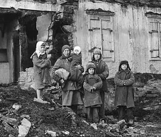 Дети блокадного Ленинграда (фото и видео)