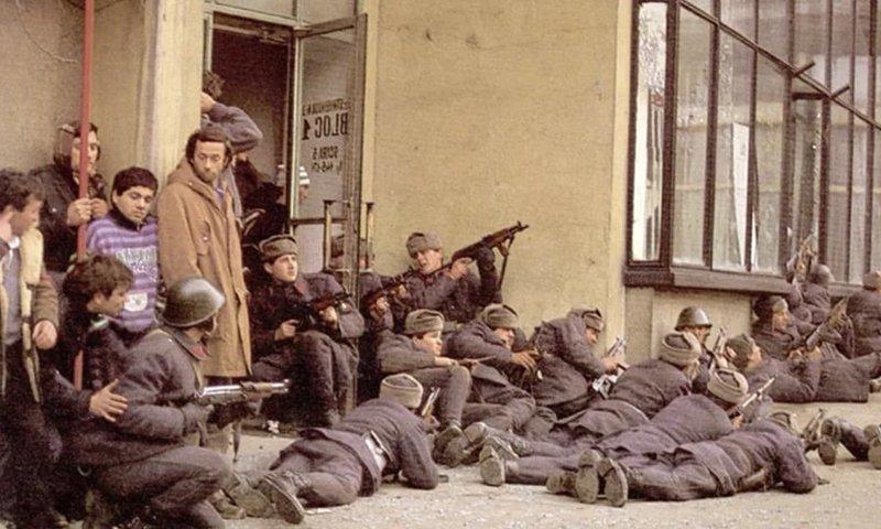 Бегство. Николае Чаушеску, день в истории, румыния