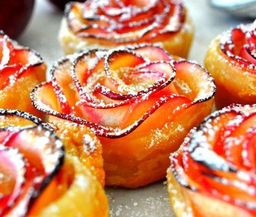 """Яблочная слойка """"Донна Роза"""" десерты рецепты, еда, приготовление еды"""