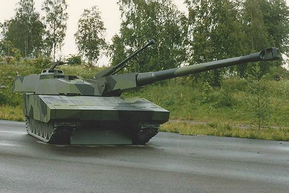 "Шведский танк Stridsvagn-2000 мог бы потягаться с Т-14 ""Армата""?"