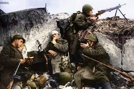 5 советских бойцов атаковали 800 фашистов