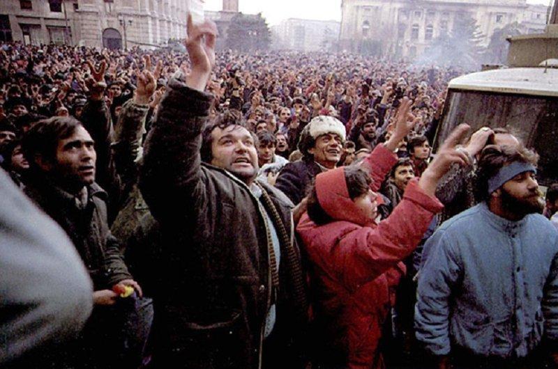 Бунт в Тимишоаре. Николае Чаушеску, день в истории, румыния