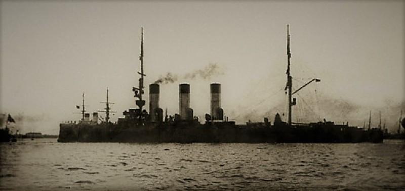 Судовой священник «Авроры» погиб от «дружеского огня». Цусима, интересное, история, крейсер «Аврора»