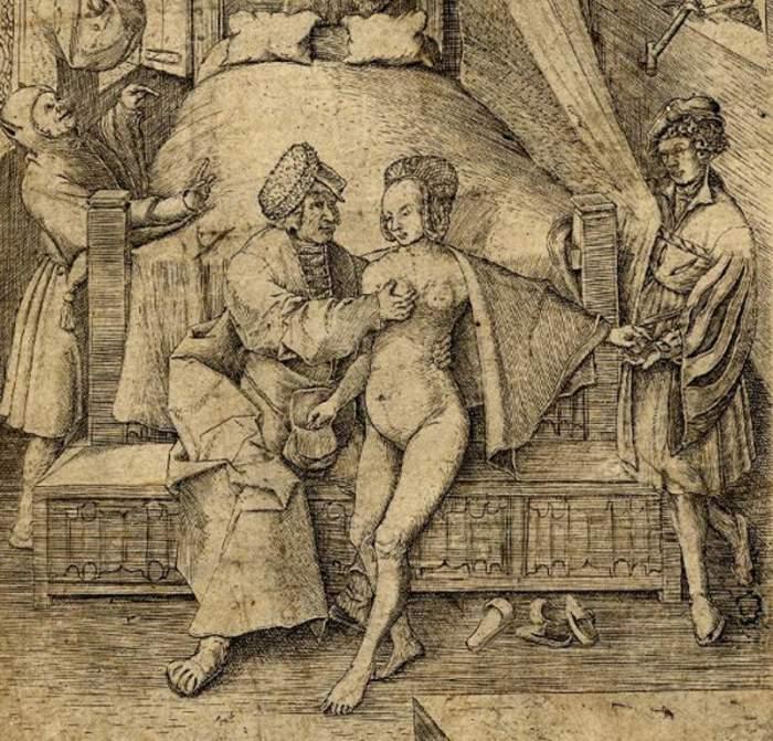 Сексуальные наказания в средних веках
