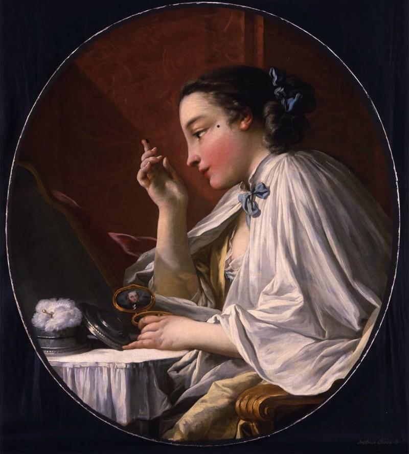 9. Поаккуратнее с косметикой Георгианская эпоха, англия, британия, великобритания