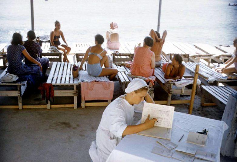 Крым в 1958 году