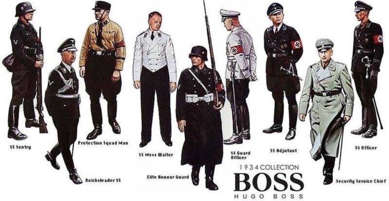 Hugo Boss - создатель формы для нацистов и личный стилист Гитлера