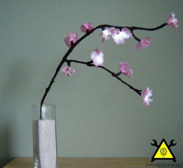 Делаем светильник «Вишневый сад»