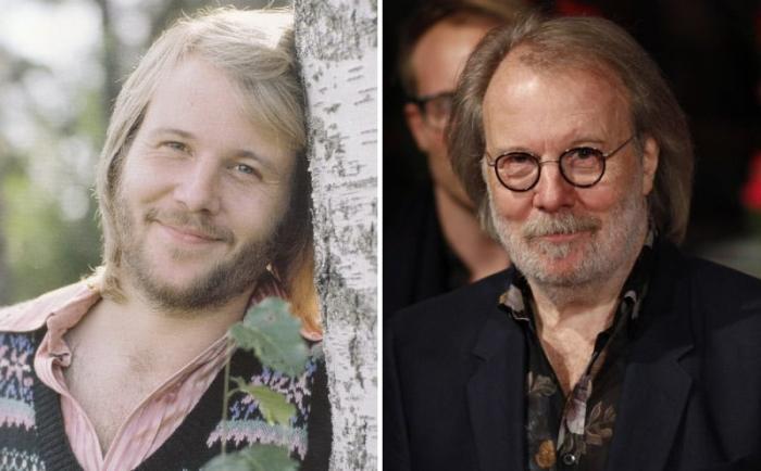 Бенни Андерссон тогда и сейчас   Фото: worldi.ru