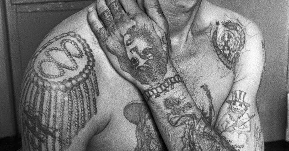 Эполет. Тюремные наколки и их значение в зоне (фото)