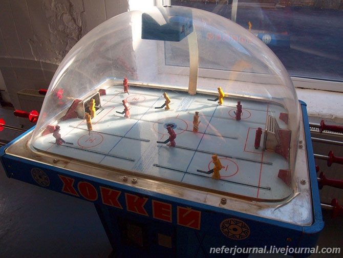 Хоккей Морской бой, СССР, игровые автоматы, игры
