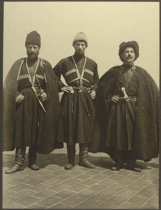 Горцы из Российской империи, 1903 год америка, иммигранты, исторические фото, история, остров Эллис, факты