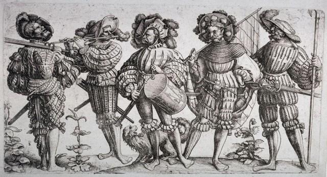 Ландскнехты: Товарищи по убийству европа, история. оружие, ландскнехты