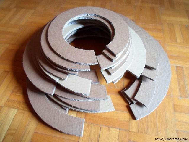 Кошкин домик из картона. Мастер-класс (25) (700x525, 265Kb)