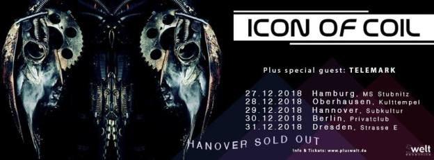 Icon of Coil @ Kulttempel Oberhausen