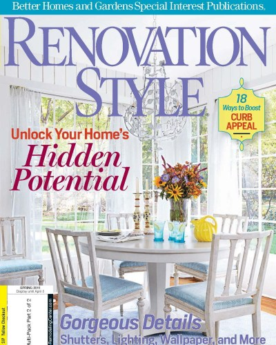 renovation style magazine marlaina teich issue