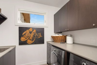 clyde hill interior design laundry room