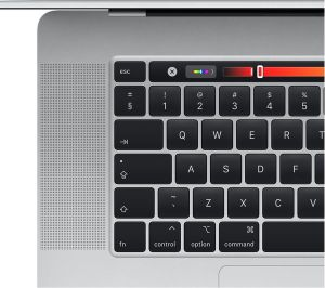 MacBook Pro 16 inch Touch Bar