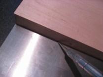 Scoring The Aluminum Plate II