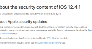 apple security release