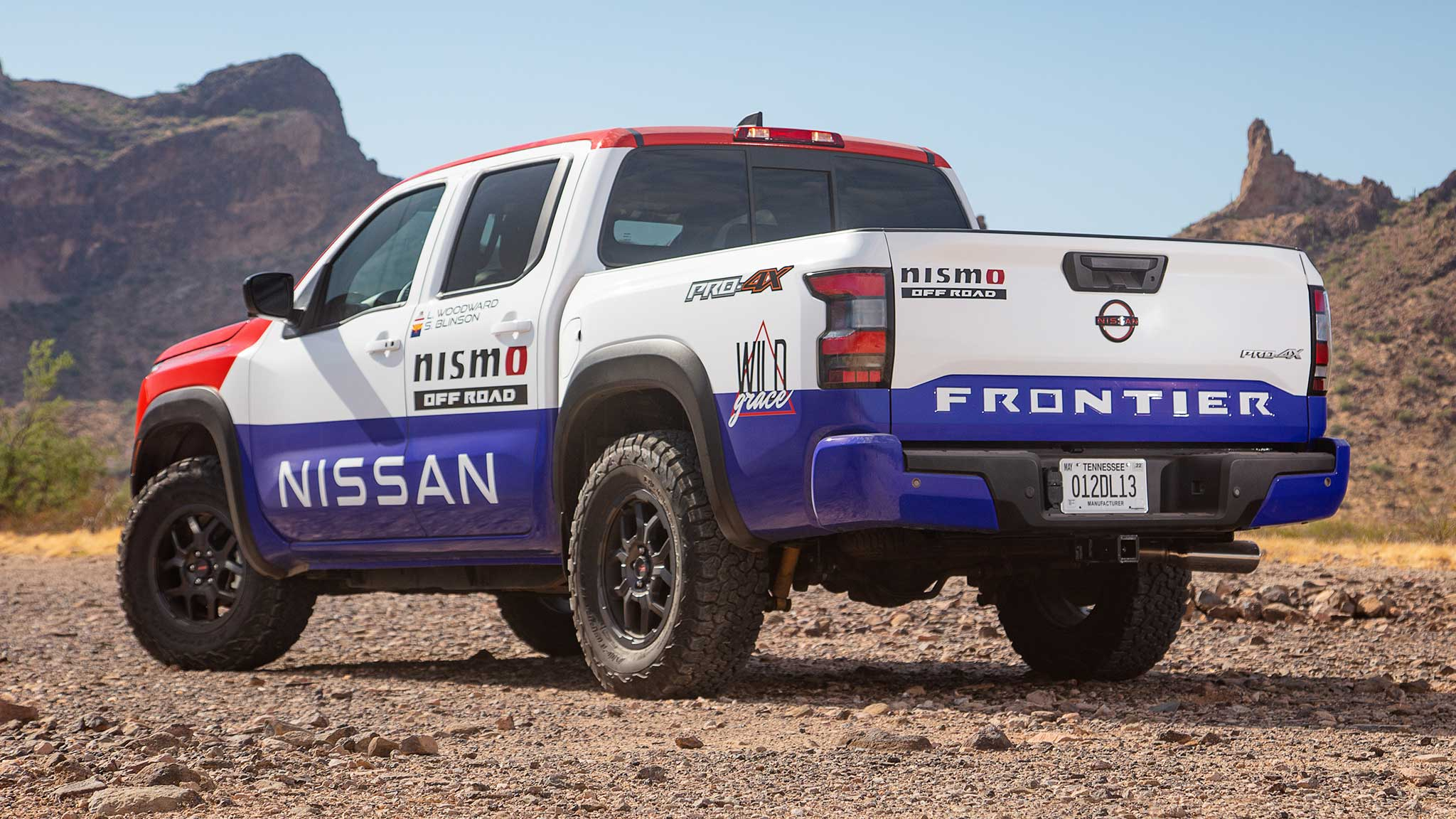 2022 Nissan Frontier PRO 4X Rebelle Rally 11