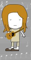 Emilia's musical avatar