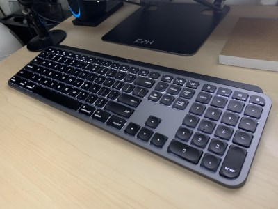 MX keys for Mac バックライト
