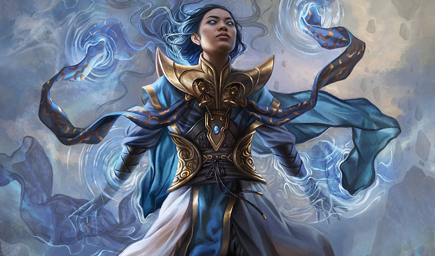 Narset, Parter of Veils Art by Magali Villeneuve