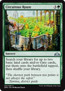 Circuitous Route (GRN) 125