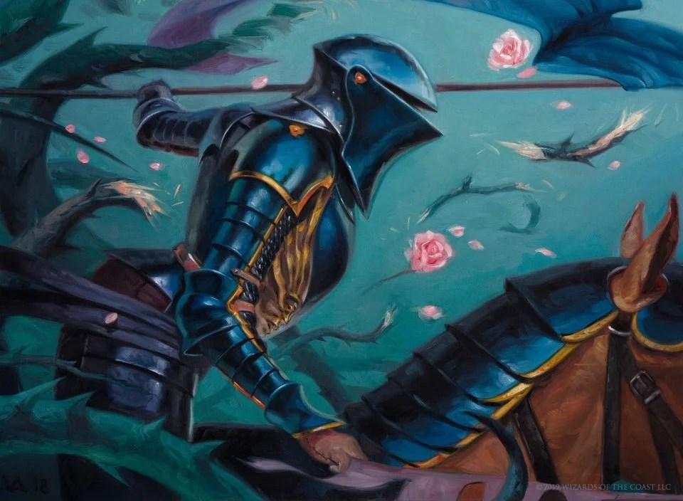 Blacklance Paragon Art by Victor Adame Minguez