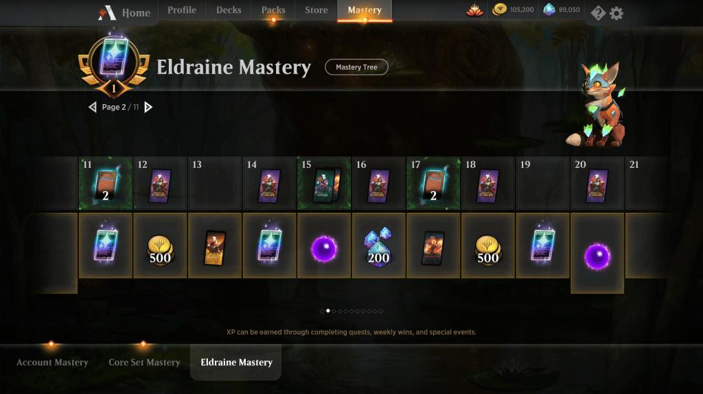 Eldraine Mastery Reward Page 2